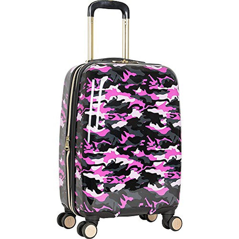 "Aimee Kestenberg Women's Sergeant 20"" Camo Printed Hardside Expandable 8-Wheel Spinner Carry-on"