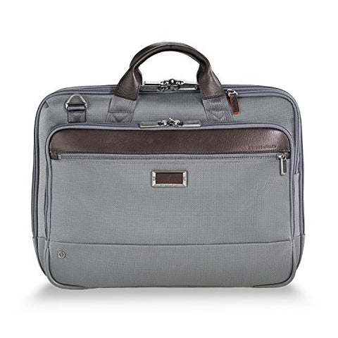 Briggs & Riley @Work Medium Briefcase, Gray