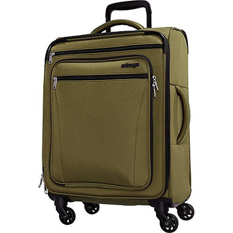 eBags eTech 3.0 Softside Spinner Carry-On (Olive Green)