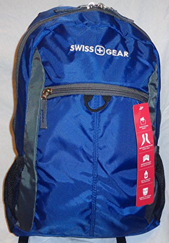 Swissgear(R) Daypack Backpack, Blue/Gray