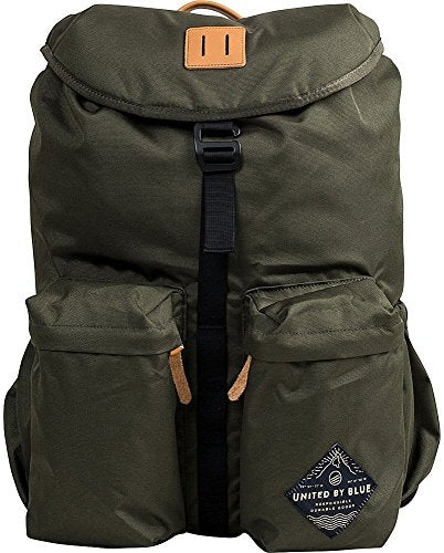 United By Blue 30L Base Backpack Olive One Size