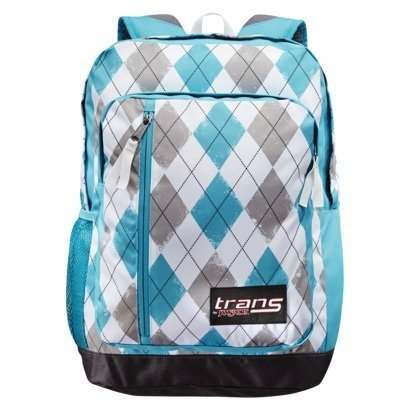 Trans By JanSport MegaHertz - Teal/Grey/White Argyle
