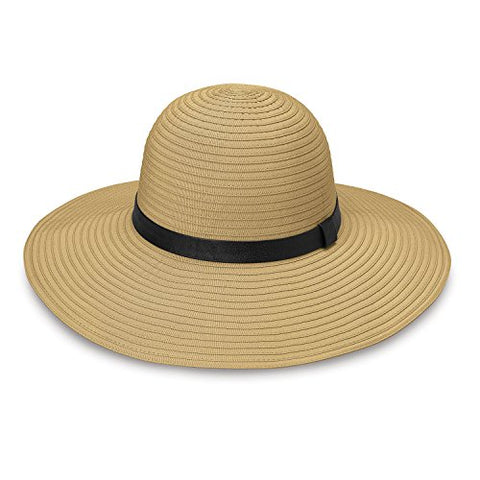 Wallaroo - Harper - Wide Brim, Upf50+ Packable Sun Hat, Camel