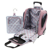 Travelpro Maxlite 5 Carry-on Compact Rolling Under Seat Bag Carry-On Luggage, DUSTY ROSE