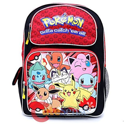 Pokemon Backpack Bag - Not Machine Specific