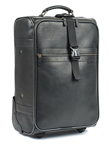 "Classic 21"" Trolley Suitcase Color: Black"