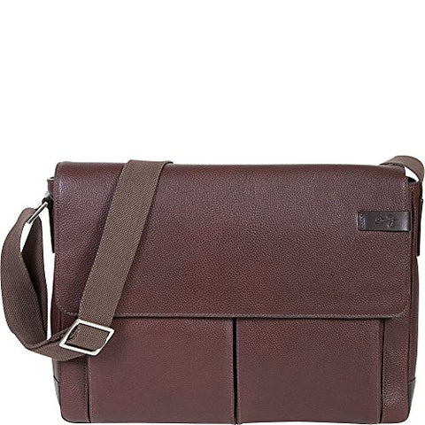 Scully Sierra Leather Front Flap Closure Workbag (Brown)