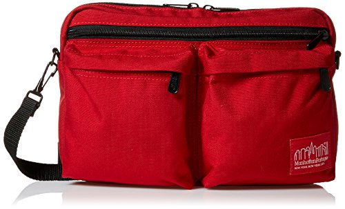 Manhattan Portage Albany Shoulder Bag, Red, One Size