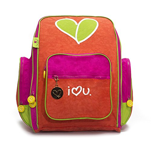 Biglove Kids Backpack Love, Multi-Colored, One Size