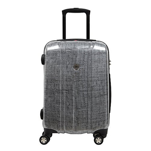 Carry On Luggage 20 Inch Lightweight Hardside with Spinner Wheels Pure PC Built-in TSA Lock Travel Small Cabin Rolling Trolley Case Suitcase