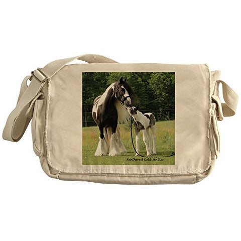 Cafepress - Dated With Foal Final - Unique Messenger Bag, Canvas Courier Bag