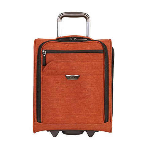 Ricardo Beverly Hills Malibu Bay 16-Inch Under Seat Rolling Tote Carry-On Luggage, Orange