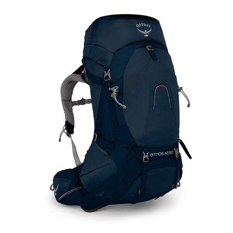 Osprey Packs Atmos Ag 50 Backpacking Pack, Unity Blue, Medium