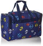 World Traveler Value Series Pacific 16-Inch Carry Duffel Bag, Anchor Blue, One Size