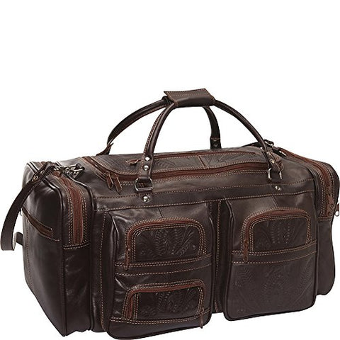 Ropin West Duffel Bag (Brown)