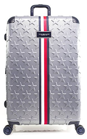 "Tommy Hilfiger Starlight 28"" Expandable Hardside Spinner, Charcoal"