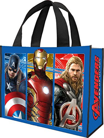 Vandor 26773 Marvel Avengers Age Of Ultron Recycled Shopper Tote, Large, Multicolored