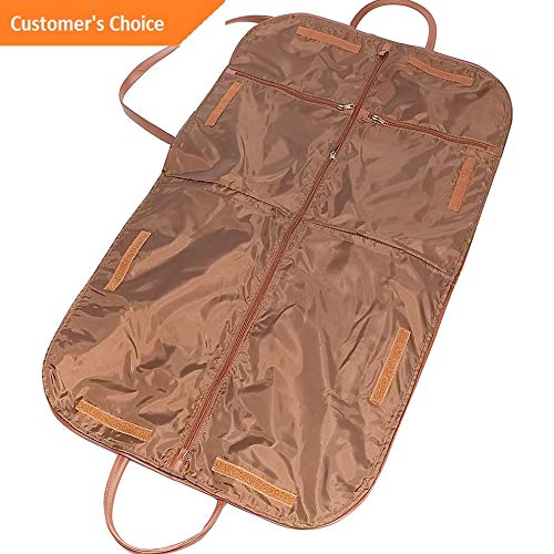 Sandover Royce Leather Leather Garment Cover 2 Colors Garment Bag NEW | Model LGGG - 3486 |