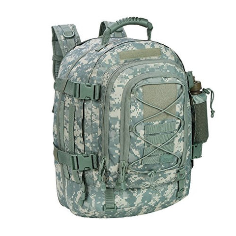 40L Outdoor Expandable Tactical Backpack Military Sport Camping Hiking Trekking Bag (ACU 08001A) by