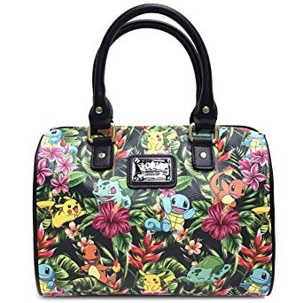 Loungefly X Pokemon TROPICAL STARTER Duffle Bag in Green