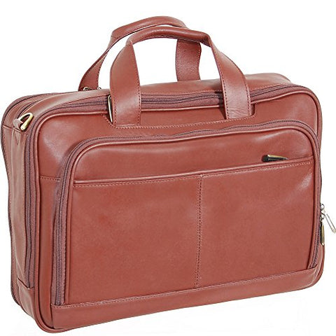 Netpack Leather Laptop Business Case (Brown)