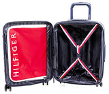 "Tommy Hilfiger Starlight 28"" Expandable Hardside Spinner, Red"