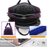 CoolBELL Shoulder Bag 17.3 Inch Laptop Bag Messenger Bag Briefcase Multi-Compartment Handbag for