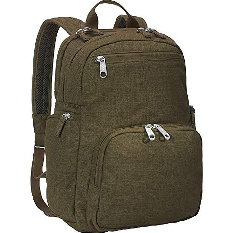 "eBags Kalya Day Tour 2.0 Small Carry-On Backpack w/RFID Anti-Theft Security for Travel - Fits 14"" Inch Laptop - (Sage Green)"