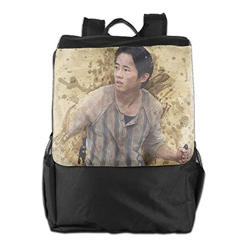 The Walking Dead Glenn Mens&womens Lightweight Backpack Gym Bag For Camping