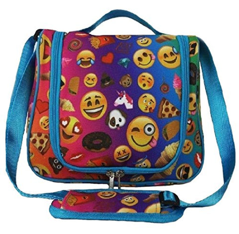 Emojicon Tioletry Cosmetic Bag