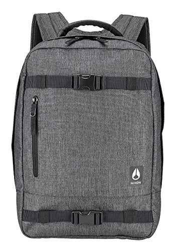 Nixon Del Mar Backpack Charcoal Heather Skate Laptop Bag