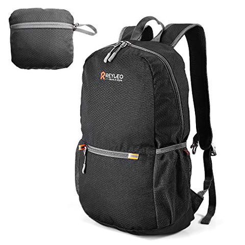 Reyleo Foldable Hiking Backpack, Lightweight Packable Travel Daypack, Camping Outdoor Small Bag,