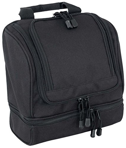 Code Alpha Tactical Gear Toiletry Kit, Black, 10In.X10In.X5In.