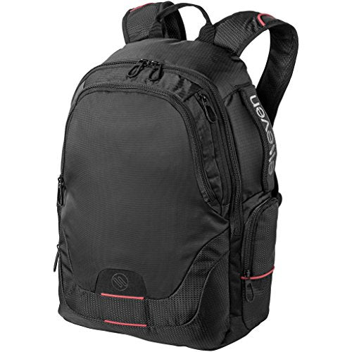 Elleven Motion 15in Laptop Daypack (12.2 x 5.3 x 17.7 inches) (Solid Black)