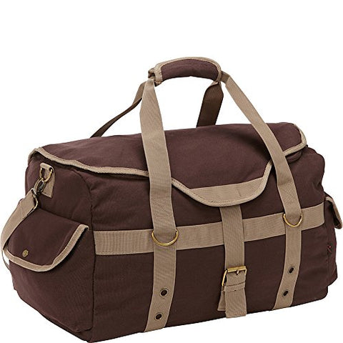 "Bellino Expresso 19"" Canvas Duffle (Brown)"