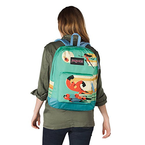 JanSport Incredibles High Stakes Backpack - Incredibles Family Charge