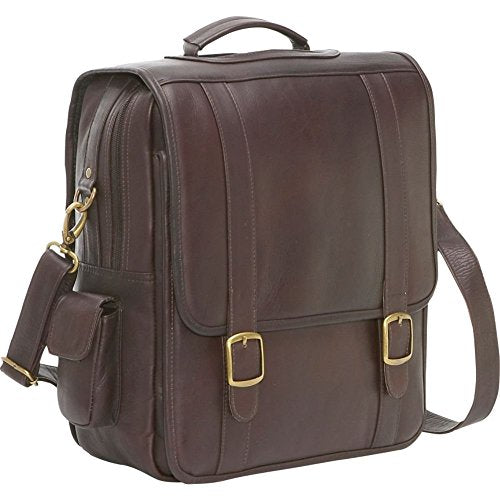 LeDonne Leather Convertible Backpack/Laptop Brief