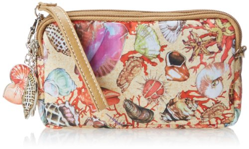 Sydney Love Seashell Accessory Pouch Cosmetic Case,Multi,One Size
