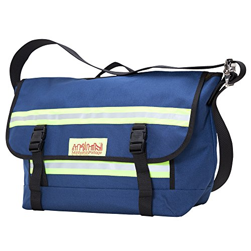Manhattan Portage Medium Professional Bike Messenger Bag (Navy)