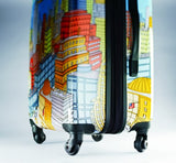 Samsonite Nyc Cityscapes Spinner 24, Blue Print, One Size