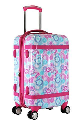 J World New York Taqoo Carry-On Luggage (Blue Raspberry)