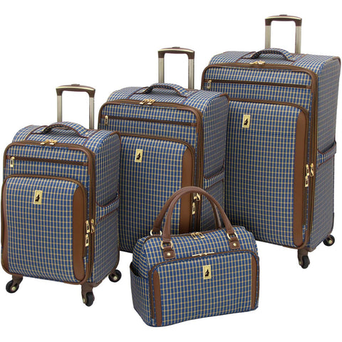 London Fog Kensington 4 Piece Luggage Set