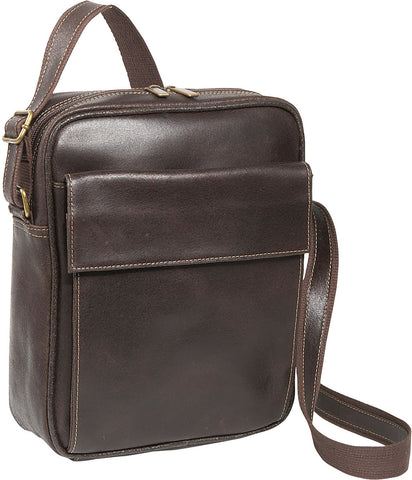 LeDonne Leather Distressed Ipad/E-reader Carry All Bag
