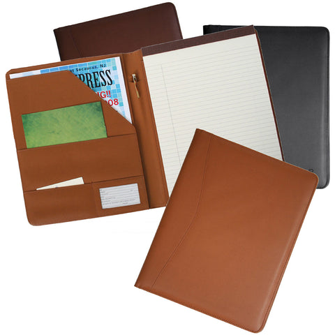Royce Leather Executive Writing Padfolio Document Organizer