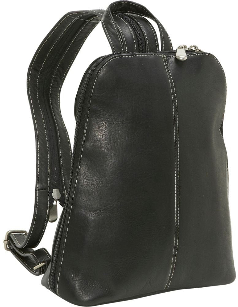 LeDonne Leather U-Zip Womans Sling/Backpack