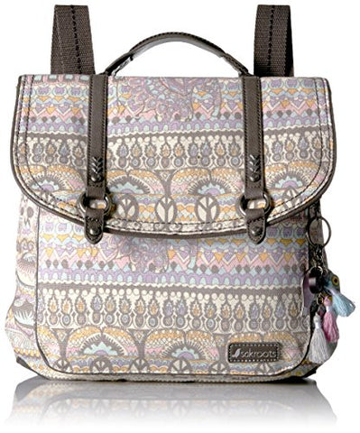Sakroots Women's Artist Circle Convertible Backpack, Pastel Ow