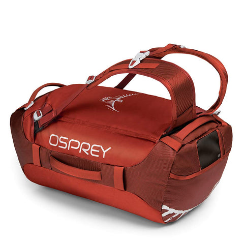 Osprey Packs Transporter 40 Expedition Duffel, Ruffian Red, One Size