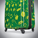American Tourister Moonlight Spinner 21, Green/Yellow