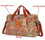 Baosha Hb-31 Women Travel Duffel Bag Carry On Weekender Overnight Bag (Colour)