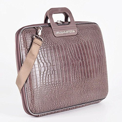Cocco Bombata Siena Briefcase for 15 Inches - Taupe